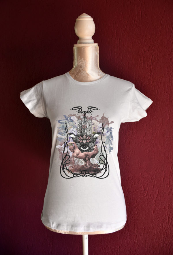Salomé tshirt for belly dance and tribal fusion dance lesson