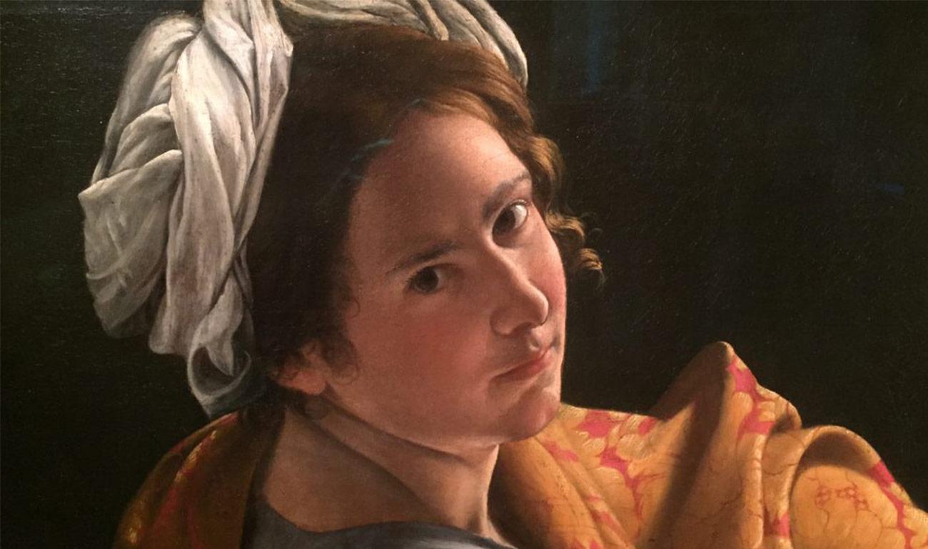 Artemisya Dancewear blog - Artemisia Gentileschi post - Orazio Gentileschi, Ritratto di giovane donna come Sibilla 1620