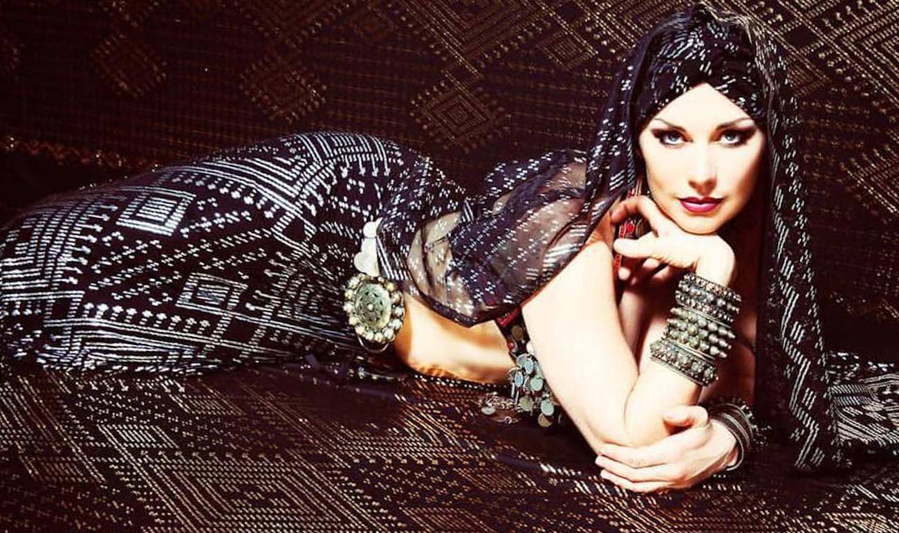 Artemisya Dancewear blog - The charm of Assuit fabrics post - Assuit fabric dress