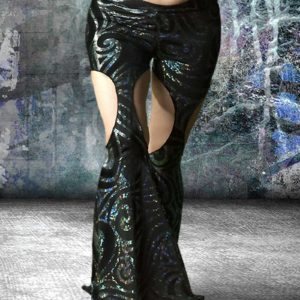 tribal fusion and tribal dance pants for competition or practice post apocalyptic clothing for modern dance pants Modern Fusion by Artemisya Dancewear