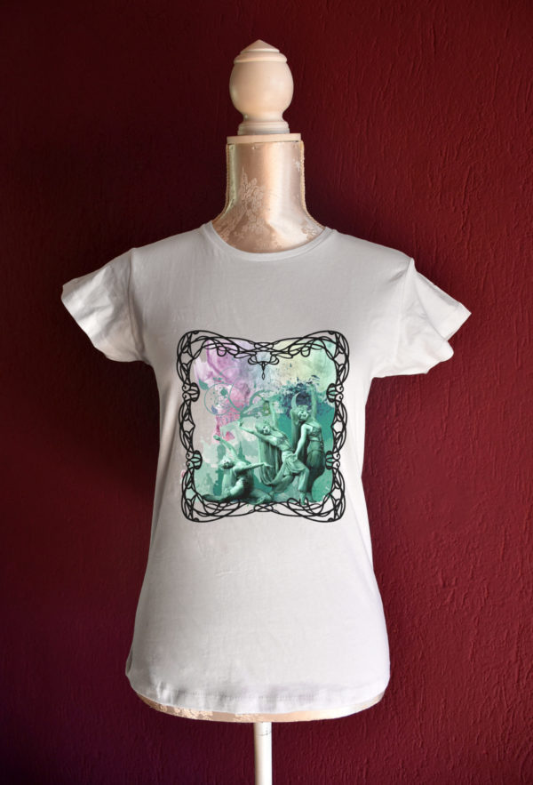Evolutions tshirt for belly dance and tribal fusion dance lesson