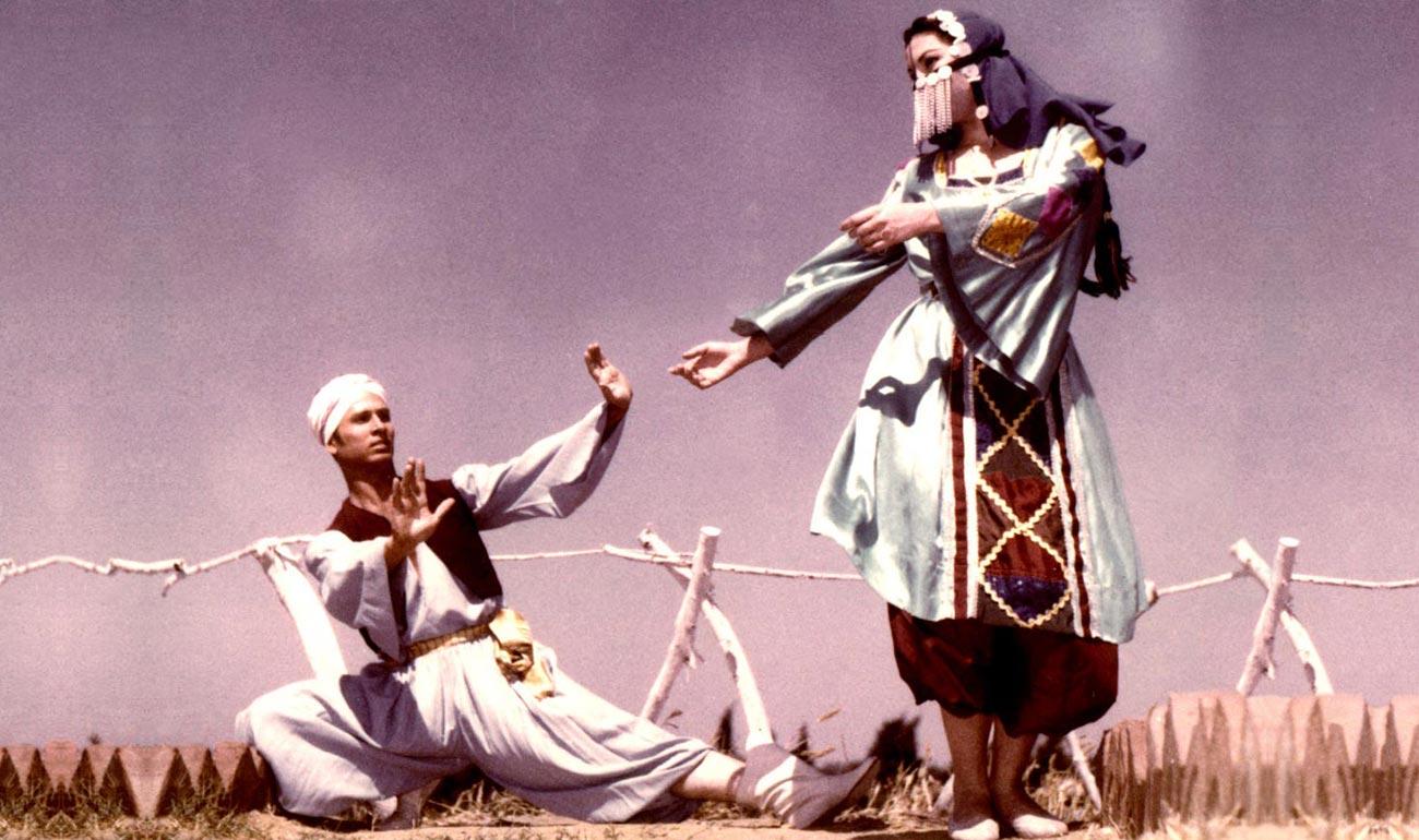 Artemisya Dancewear blog - Raqs Sharqi post -Egyptian Folk Dance - Mahmoud Reda and Farida Fahmy dancers