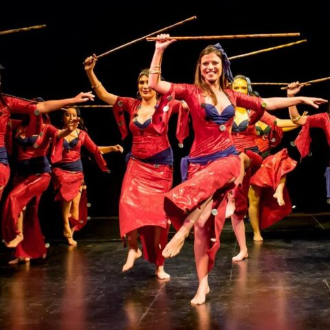 Artemisya Dancewear blog - Saidi: the stick dance post -Saidi dancers group