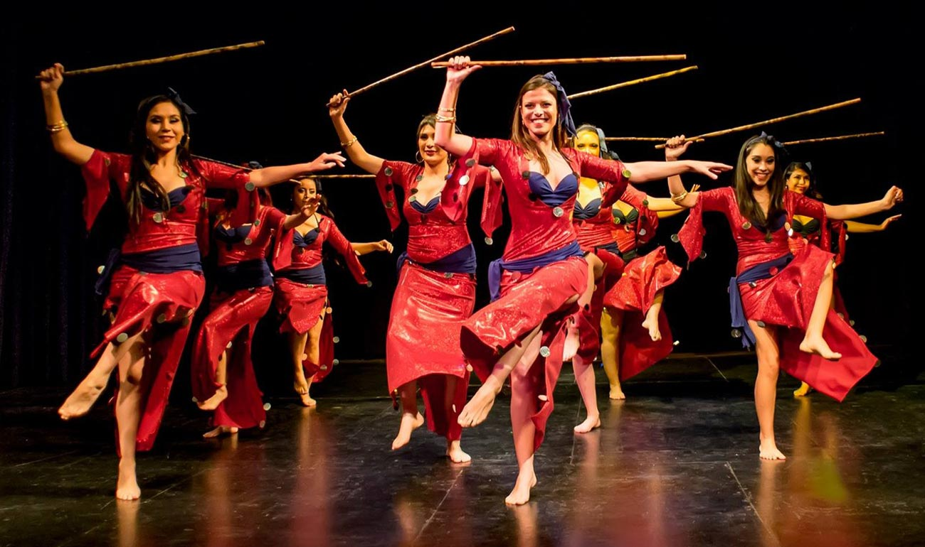 Artemisya Dancewear blog - Saidi: the stick dance post -Saidi dancers group