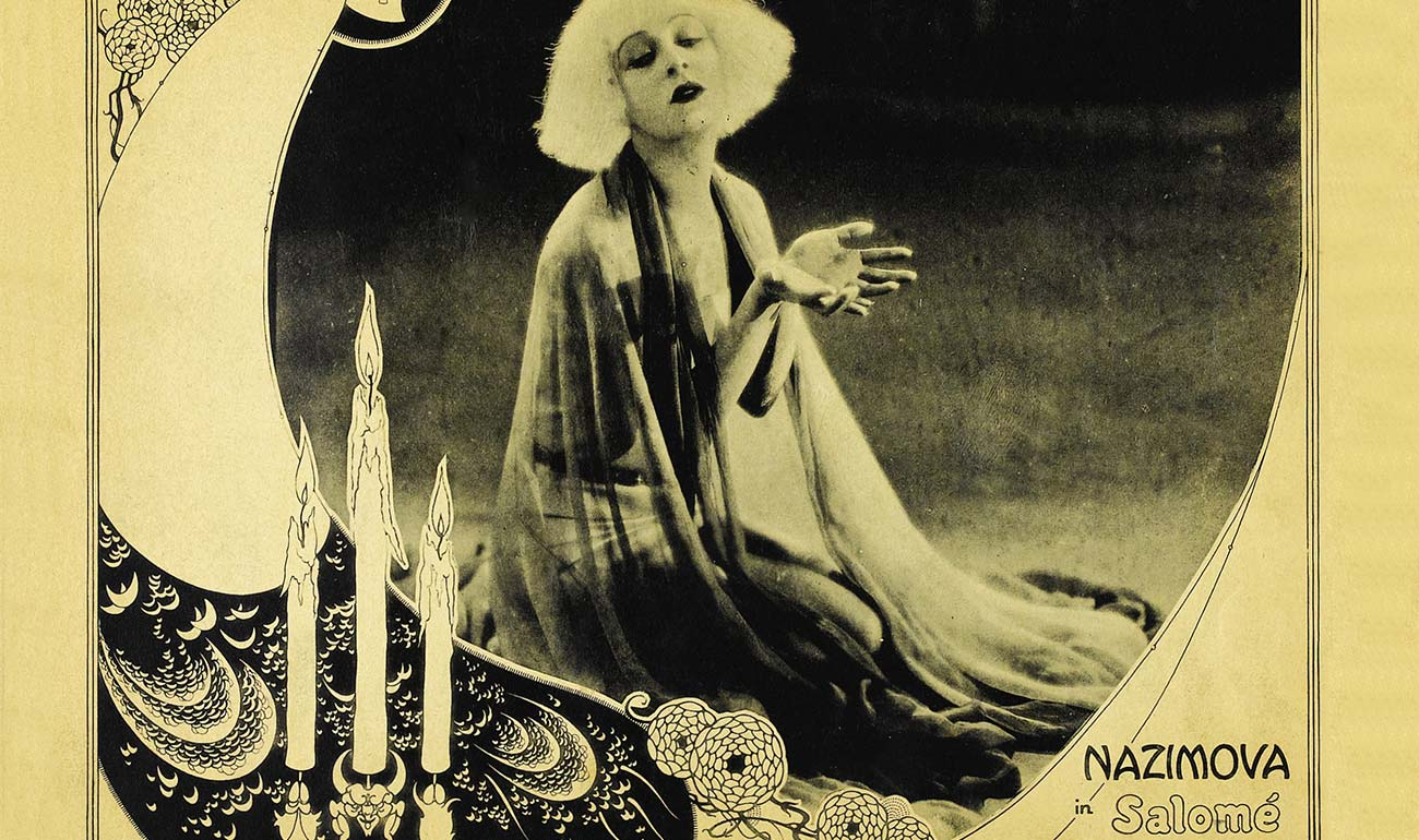 Artemisya Dancewear blog - Salomè The Seductive Dancer post - Alla Nazimova in Salomé movie 1923