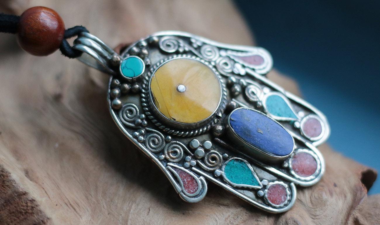 Artemisya Dancewear blog - The Hand of Fatima post - Hand of Fatima pendant
